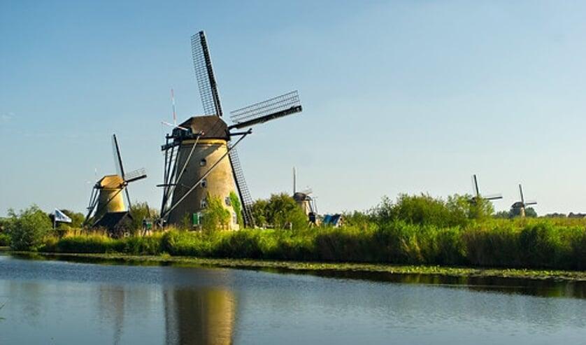 • Kinderdijk's prachtige windmolens.