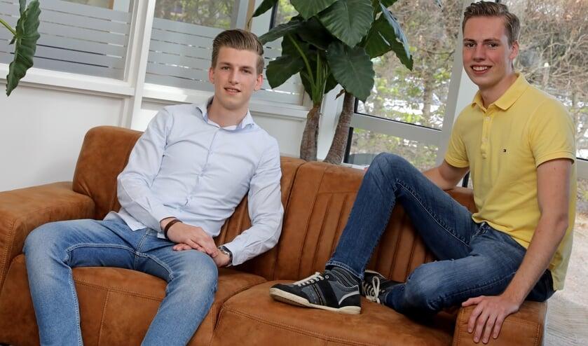 • Erik Kraaijeveld en Timon van Meerendonk.
