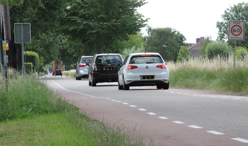 • De Benedeneind Zuidzijde: rechte weg zonder verkeersbelemmeringen.