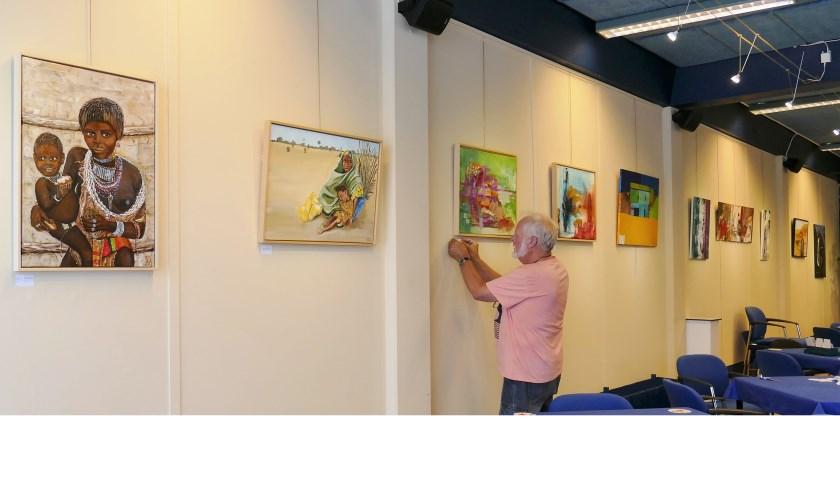 • De expositie vindt plaats in het Denksportcentrum.