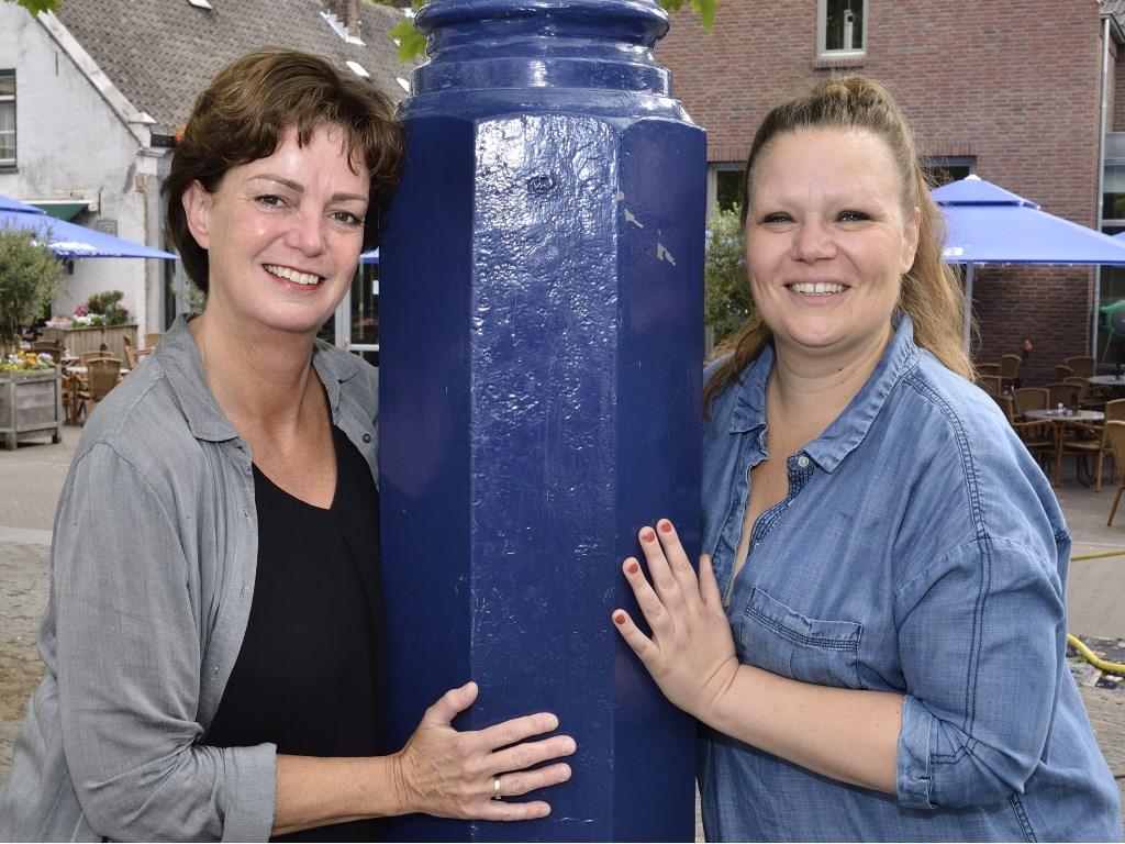 Nicole van Eck en Nancy van Heeswijk    Fotonummer: 1e0876