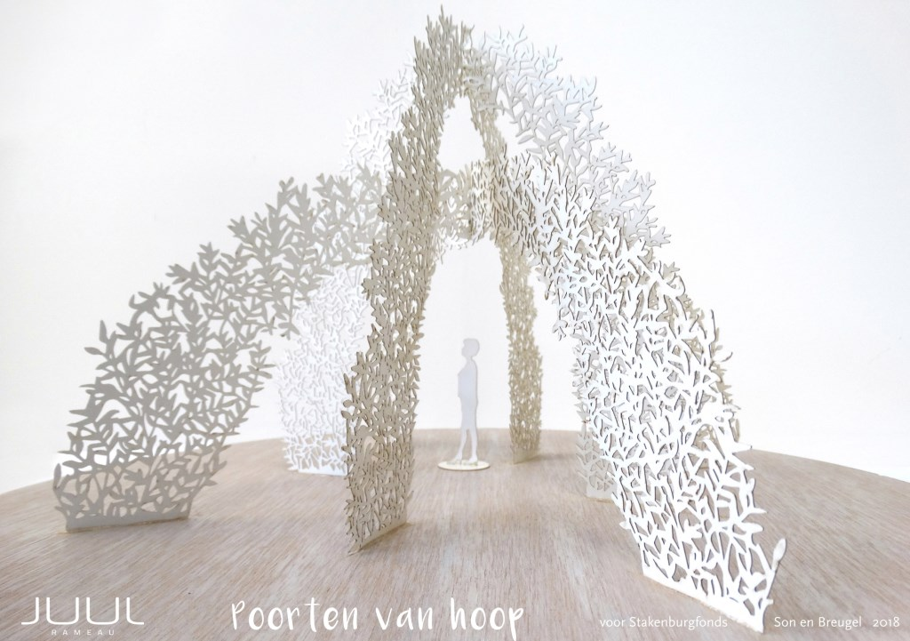 Poorten van Hoop van Juul Rameau  Foto: Projectgroep Rotondekunst © DeMooiSonenBreugelKrant