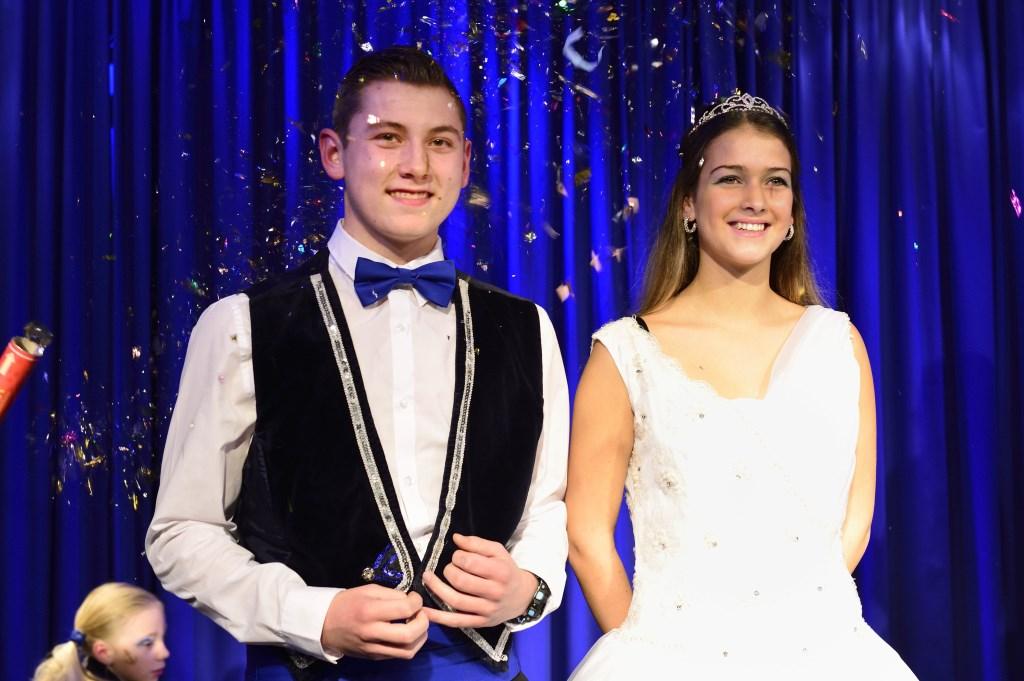 Jeugdprins Calvin en Jeugdprinses Rachelle  Foto: Wil Feijen © DeMooiSonenBreugelKrant