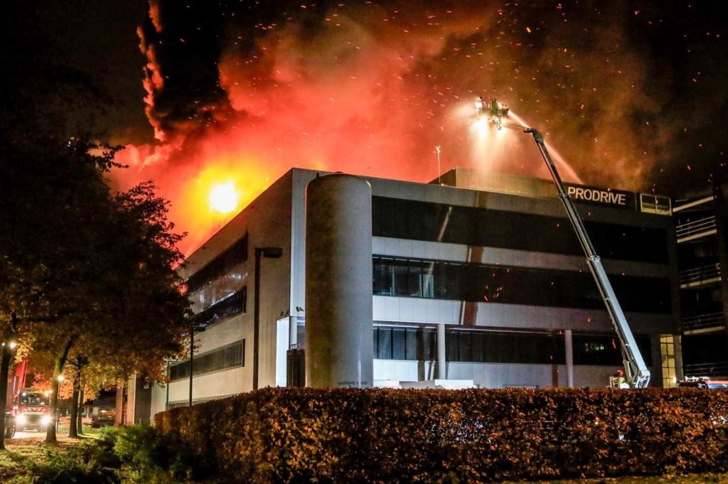 Brand bij Prodrive Son en Breugel Foto: 112nieuwsonline © DeMooiSonenBreugelKrant