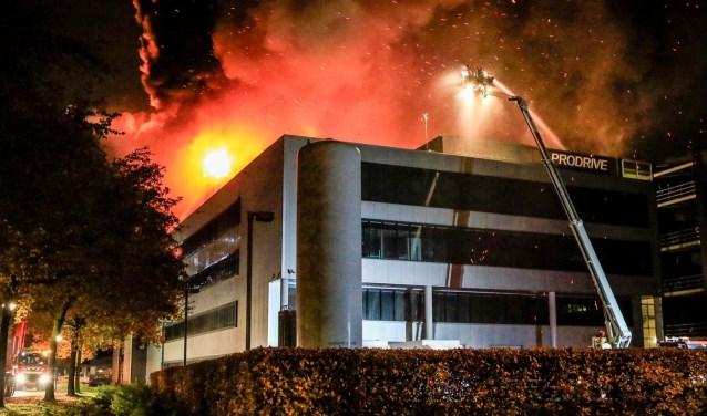 Brand bij Prodrive Son en Breugel  | Fotonummer: 2f7f4c