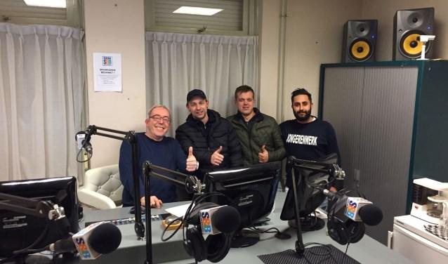 (vlnr) Han Muller, Yuri, Stefan, Ali AL Zubaidi (LEVgroep)  | Fotonummer: e61841