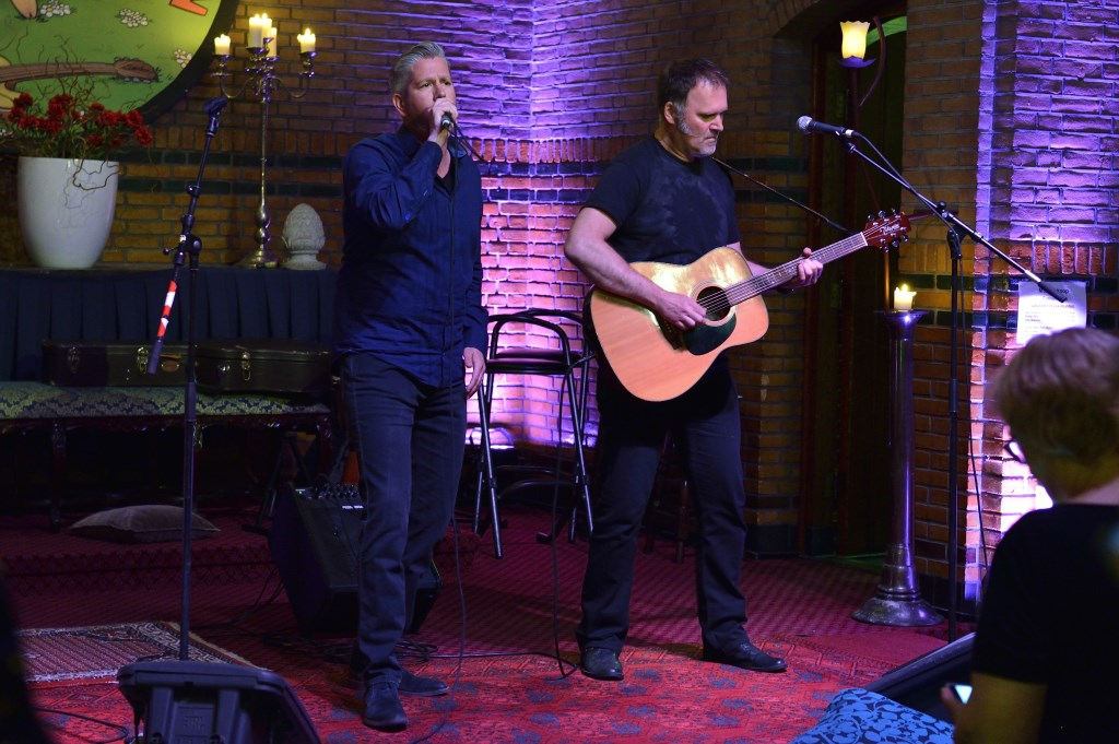 Patrick Wijns en Paul Doorschot Foto: Wil Feijen © DeMooiSonenBreugelKrant