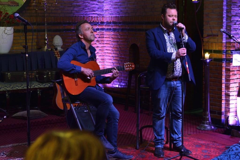 Erik Knottnerus en Benjo Plandsoen.  Foto: Wil Feijen © DeMooiSonenBreugelKrant