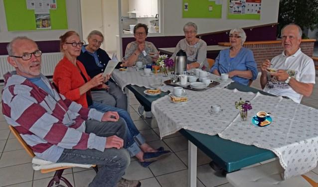 Eeen Koffie-ochtend SeniorenRaad in Centrum  Foto: Fran Maasdam © DeMooiSonenBreugelKrant