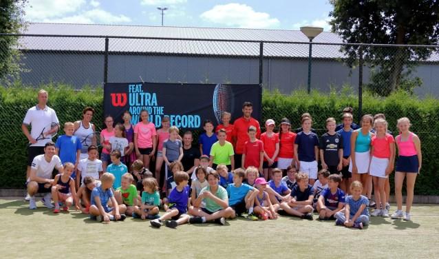 Wilson tennisclinic bij HTC Son Tennis  | Fotonummer: a46740