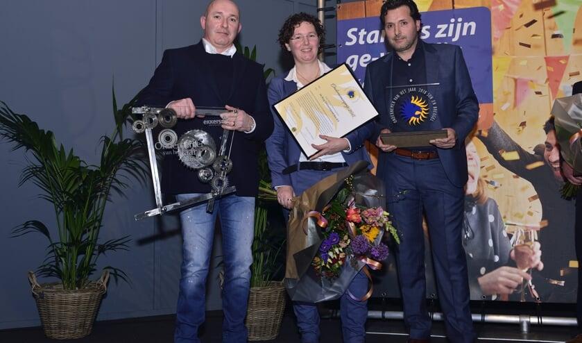 Joop, Rianne en Henri Kastelijns   | Fotonummer: c1b5e2