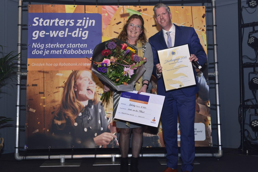Leonie van den Tillaart samen met Patrick Wijns Foto: Wil Feijen © DeMooiSonenBreugelKrant