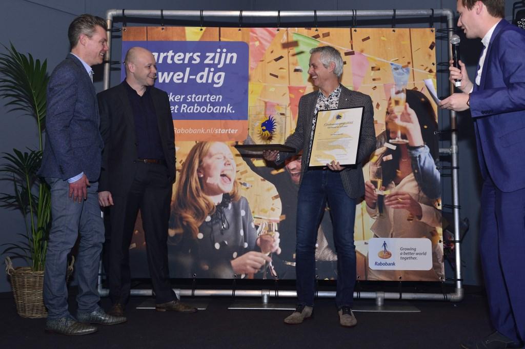 De drie genomineerden in de categorie MKB Son en Breugel, ondernemersverkiezing 2018 Foto: Wil Feijen © DeMooiSonenBreugelKrant