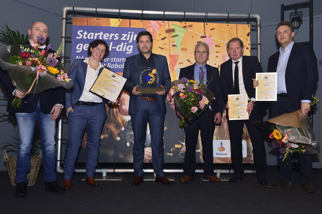 De genomineerden Ekkersrijt:V.l.n.r. Joop, Rianne en Henri,  Foto: Wil Feijen © DeMooiSonenBreugelKrant