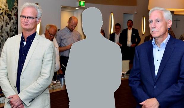 Wethouder John Frenken(l) en wethouder Jan Boersma (r)  | Fotonummer: 25c3c2