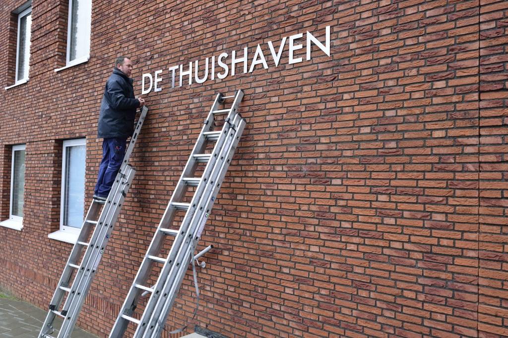 De naam op de huurappartementen aan de Molenstraat  Foto: Wil Feijen © DeMooiSonenBreugelKrant