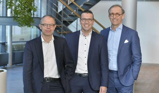 (vlnr) Marc Cootjans, Paul van Rijn en Gerard Zwartkruis   | Fotonummer: 916ac1