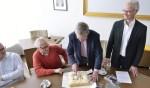 Ondertekening afspraken bouwplan IJssellaan Son en Breugel