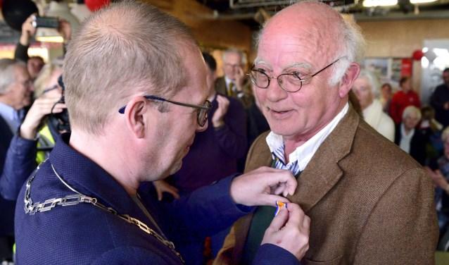 Koninklijke onderscheiding voor Wim van Asten   | Fotonummer: 7d0236