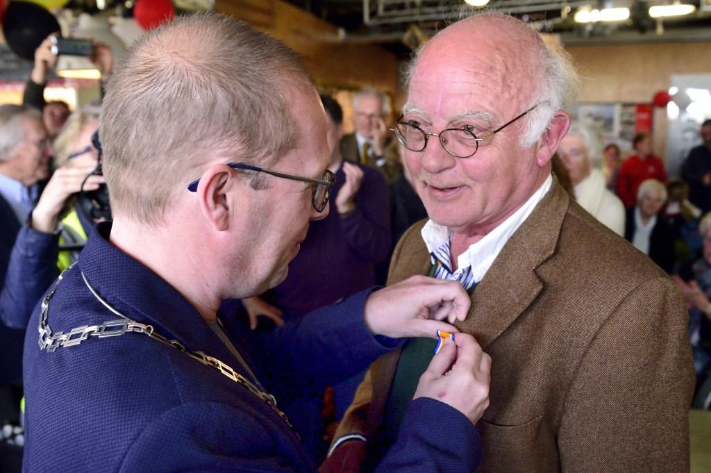 Koninklijke onderscheiding voor Wim van Asten Foto: Wil Feijen © DeMooiSonenBreugelKrant