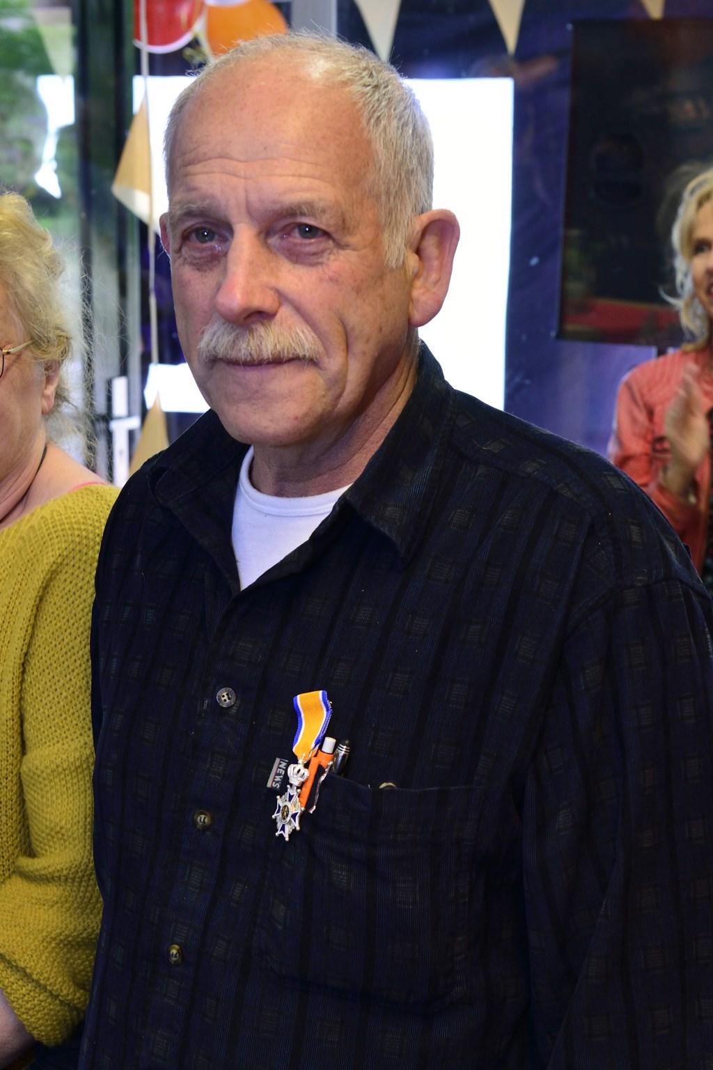 Hans Coolen Lid in de orde van Oranje Nassau Foto: Wil Feijen © DeMooiSonenBreugelKrant