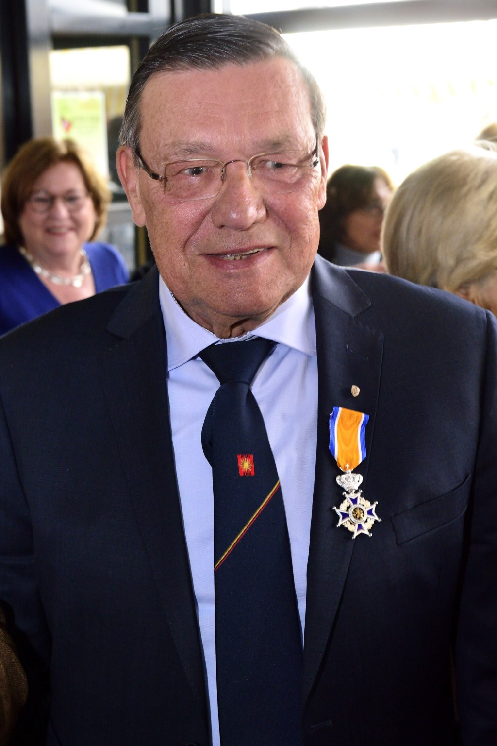 Koninklijke onderscheiding voor Frans van Vught Foto: Wil Feijen © DeMooiSonenBreugelKrant