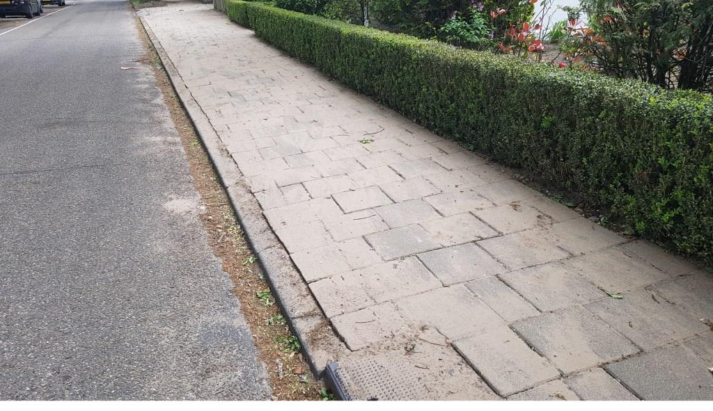 onderhoud van voetpaden   | Fotonummer: c70aec