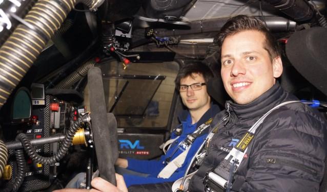 Navigator Erik Lemmen (l) en coureur Ronald van Loon (r)     Fotonummer: 6d83c3