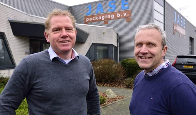 Martijn Seerden (links) en Peter Jacobs van Jase Packaging   | Fotonummer: 595d63
