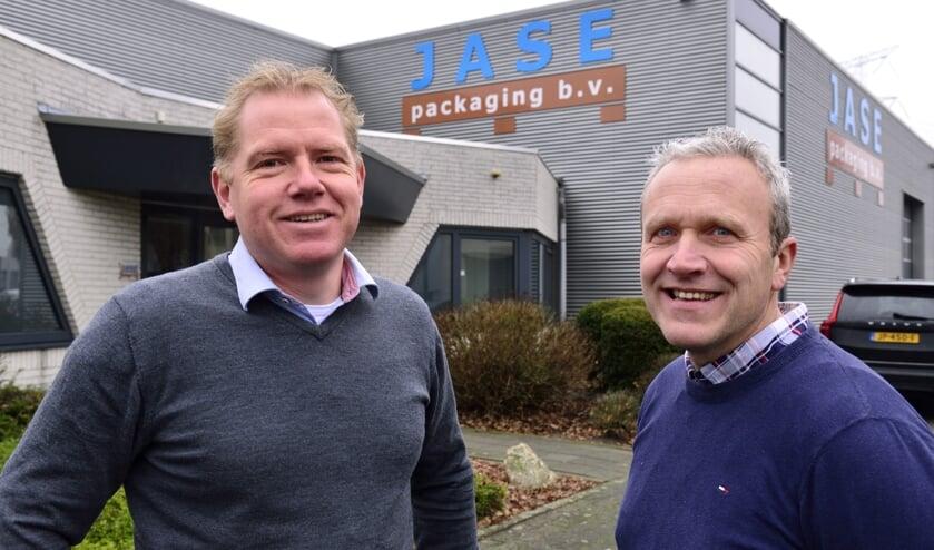 Martijn Seerden (links) en Peter Jacobs van Jase Packaging     Fotonummer: 595d63