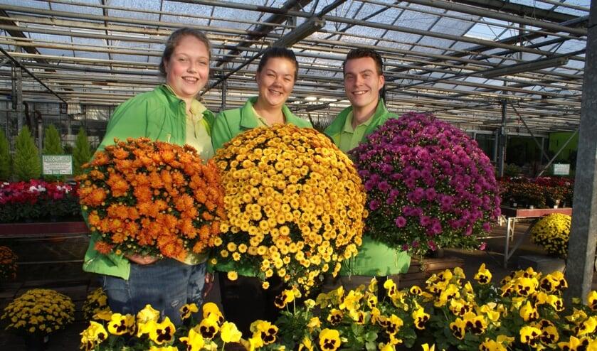 Ook in het najaar is de tuin kleurrijk met deze planten van Moerkerk's Plantenparadijs. Foto: VSK