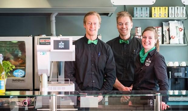 Slagers Van Eijk, blij met de verruiming van de winkeltijden in Voorschoten!