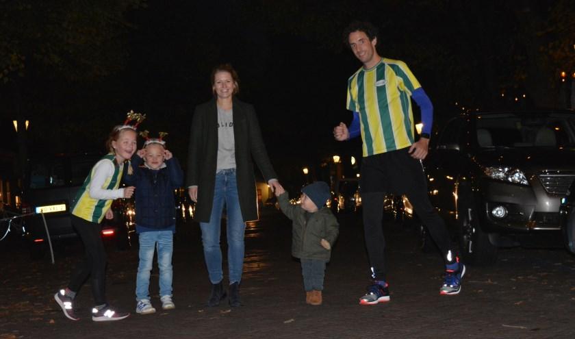Verrassende rendierenloop door Voorschoten. Wie doet er mee?? De opbrengst is voor een nieuwe atletiekbaan bij Voorschoten'97. Foto: Voorschoten'97
