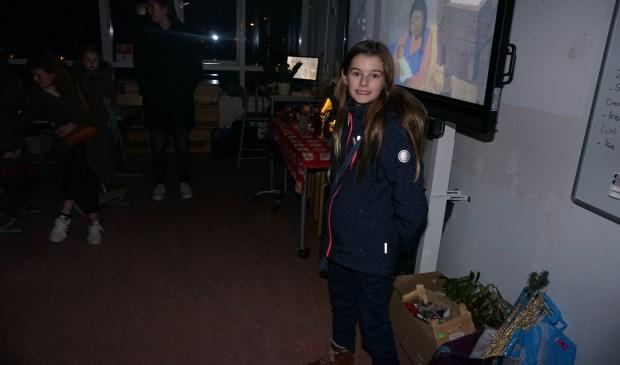 En Eva uit groep 8 is één van de begeleiders.   © VSK