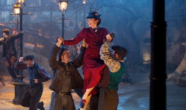 Mary Poppins Returns draait in de Kerstvakantie in het Filmtheater Voorschoten.