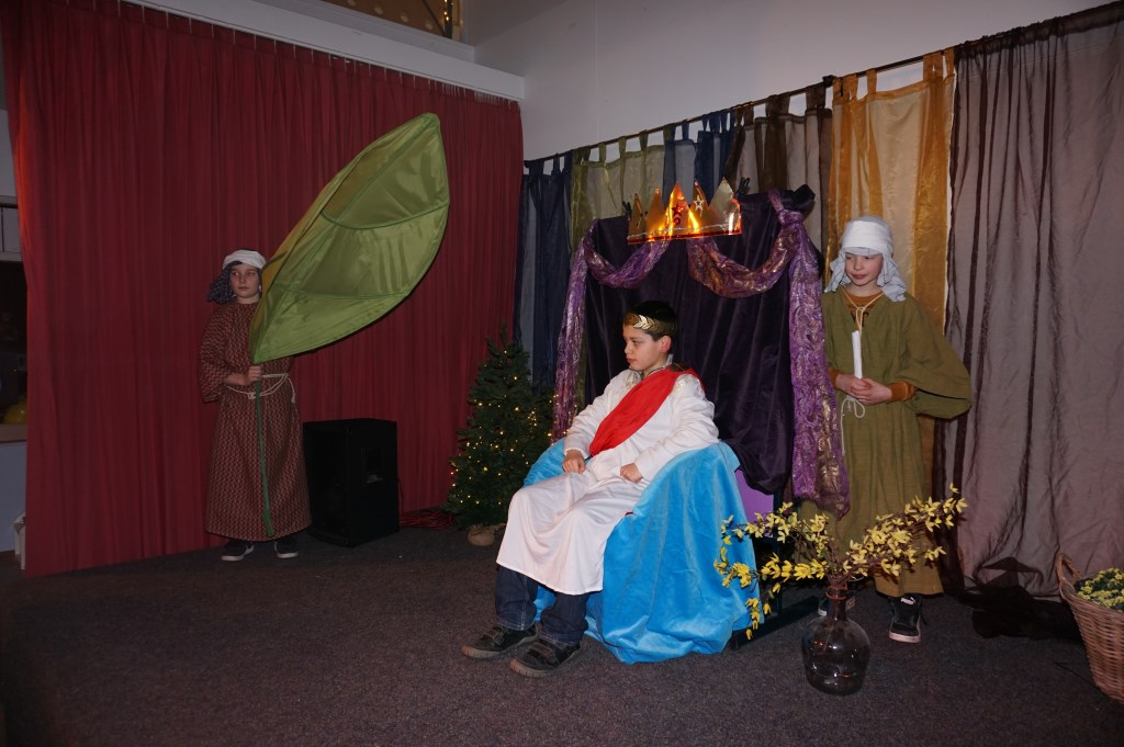 Maar Keizer Augustus staan aan de start van het verhaal.   © VSK