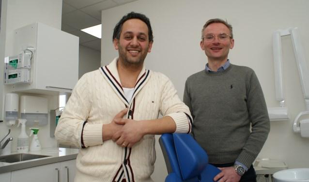 Wethouder Nanning Mol en Resa Farsi zijn beiden enthousiast voor samenwerking op gebied van Zorgen en Welzijn . Foto: VSK