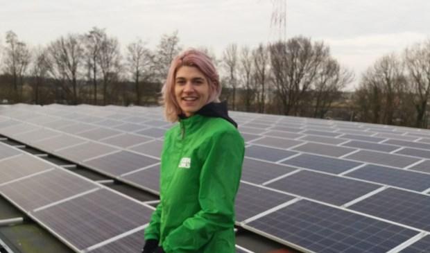 Daphne van Es van GroenLinks Voorschoten. Foto: GroenLinks