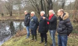 V.l.n.r Hans Decker, Ruud Zandvliet, Henk Overbosch, Ad de Graaf en Maikel Blöte in park Rosenburgh.Foto: Jan Spendel