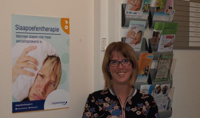 Stefanie Rodewijk helpt in haar praktijk mensen met slaaproblemen. Foto: PR