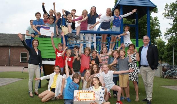 De Kluiskrakers van de Nutsbasisschool. Foto: Vsk