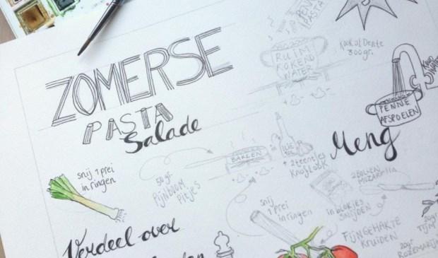 Workshop is gebaseerd op de inspirerende kookboeken en columns. Foto: PR