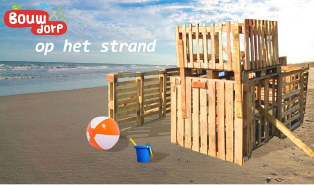 'Op het strand' het thema van Bouwdorp 2018 in Voorschoten. Foto: pr