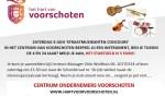 Zaterdag Straatmuzikanten Concours !