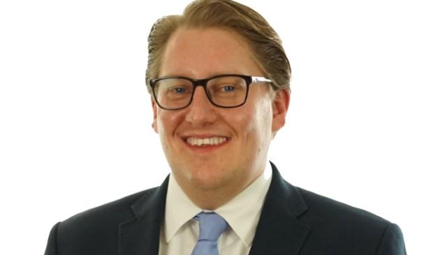 Fractie voorzitter D66 Adriaan Andringa