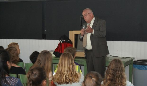 Ronald Lockhorst organiseert al 25 jaar het verkeersexamen in Voorschoten. Foto: VSK