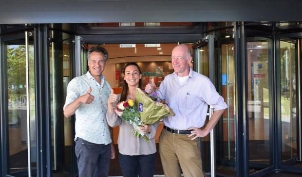 Vlnr Johan van Rixtel, Rebecca Manoch en Paul 't Lam. Foto: GroenLinks