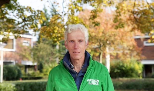 Joop Bos, raadslid voor GroenLinks. Foto: GL
