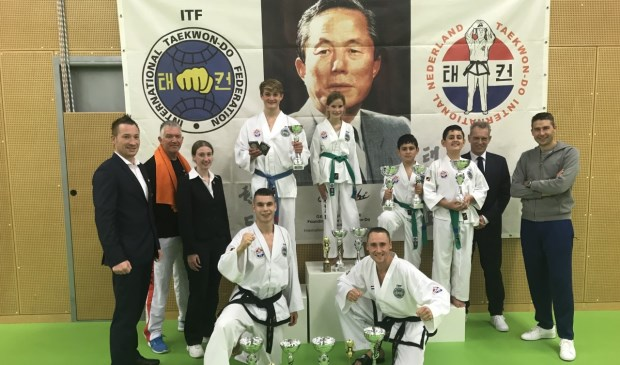 Sportinstituut Goederaad Taekwon-Do levert topprestatie op de TIN cup