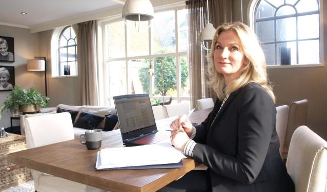 Financieel adviseur Angelique van Vliet is sinds 1 januari 2019 zelfstandig ondernemer. Foto: Vsk
